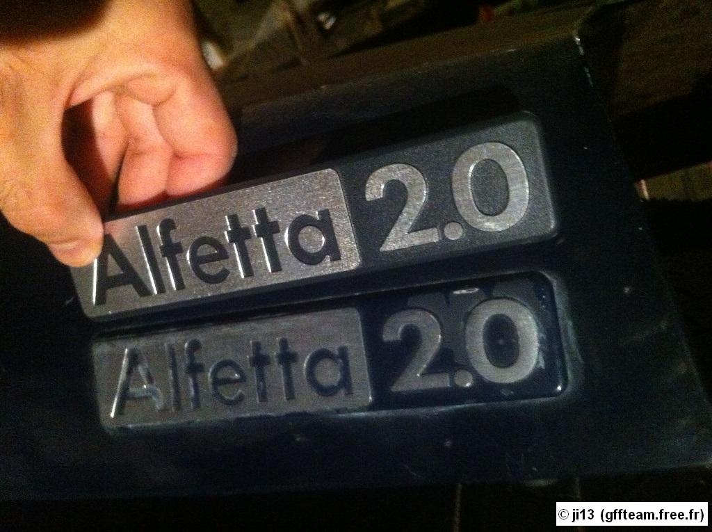 Restauration alfetta 2000 berline 1982 Resto16