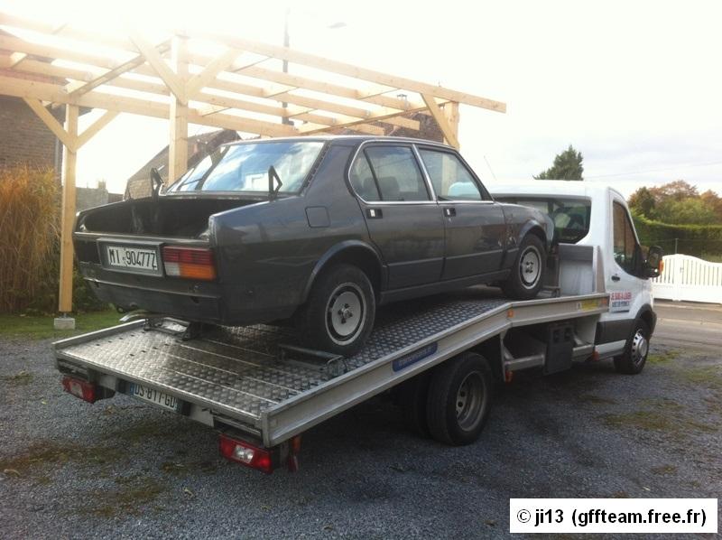 Restauration alfetta 2000 berline 1982 Resto21